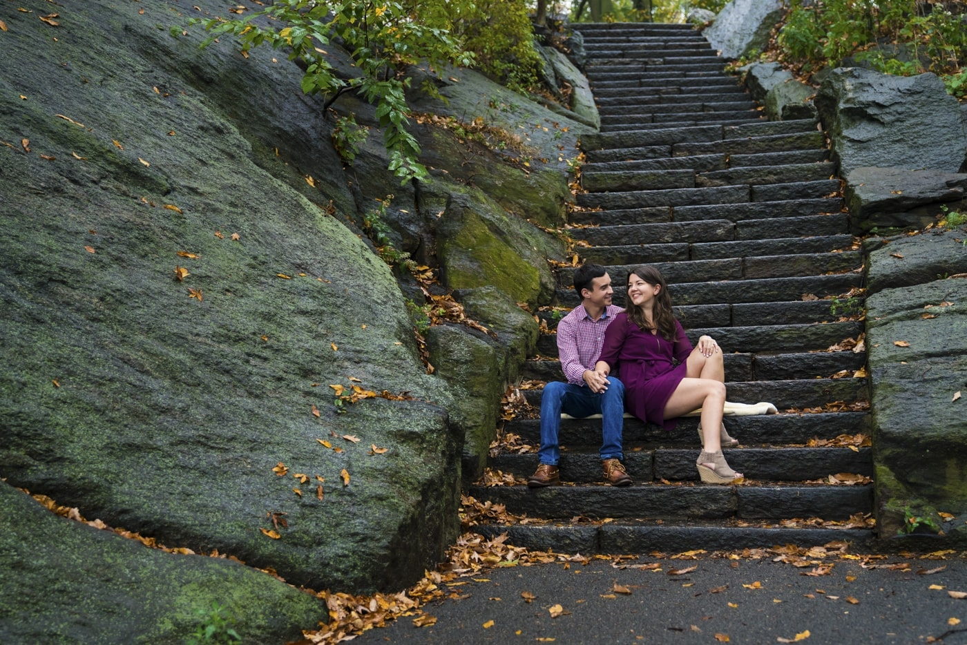 Engagement photography NYC