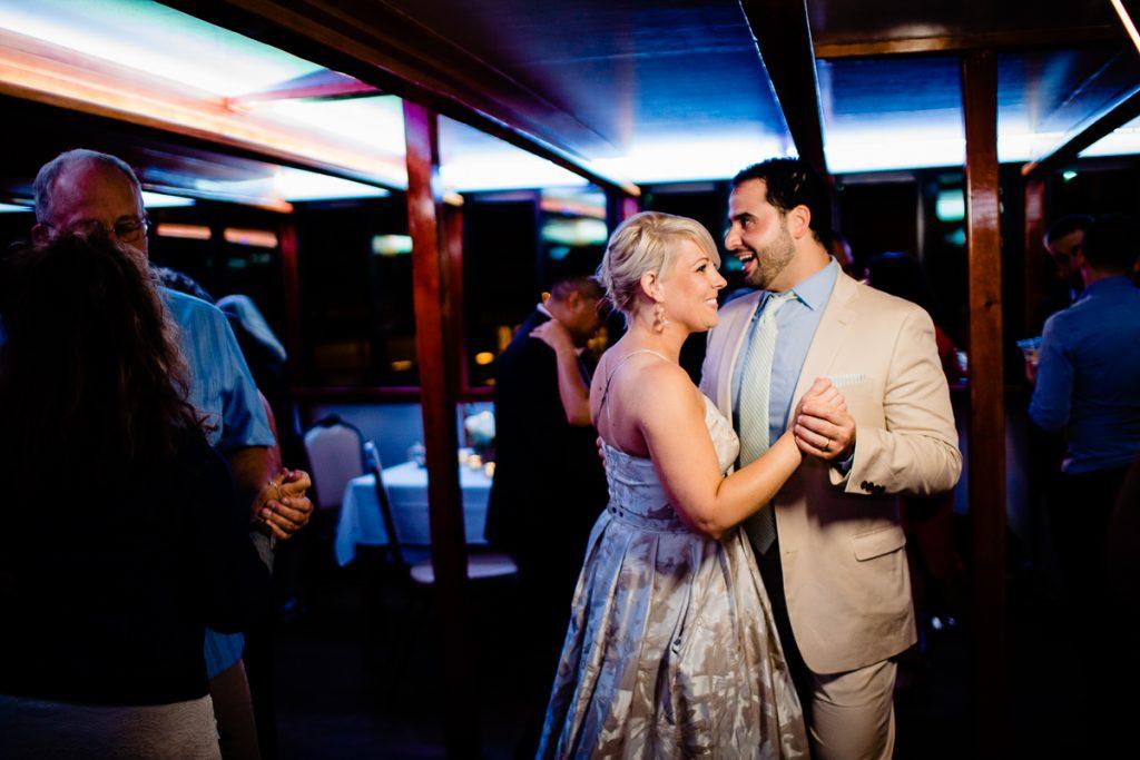wedding ceremony on boat Albany NY
